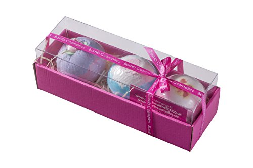 Bomb Cosmetics Luxury Bath Blaster, Geschenkset, 1er Pack (1 x 3 Stück)