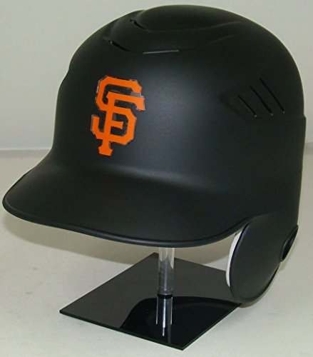 Giants Matte Black MLB New Coolflo Style Official Authentic Batting Helmet (for Right Handed Batter)