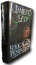 Rare Foucault's Pendulum Umberto Eco Conspiracy Theory Kabbalah Alchemy HC 1/1 1st b
