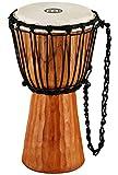 Meinl Percussion HDJ4-S - Djembe in legno, serie Headliner/Nile, tiraggio a corde, diametro 8' (20,32 cm, misura S), colore: Marrone