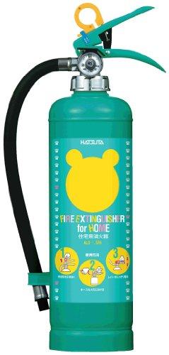 ハツタ ALS-1.5RH クマさん消火器 住宅用 強化液消火器 蓄圧式 ※リサイクルシール付