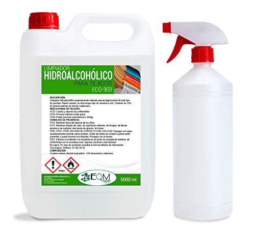 Ecosoluciones Químicas ECO-903 | 5 litros | Desinfectante Textil de aplicación directa por pulverización| Ideal para todo tipo ropa y calzado | Incluye Pulverizador