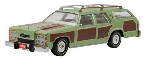 Greenlight Collectibles – 86451 – Ford – Wagon Lampoon 's Vacation 1979 – Maßstab 1/43 – Grün/Braun