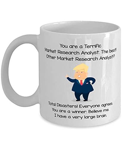 arket Reaserch Analyst Funny Coffee Mug S Ideas For Birthday or Christmas. Sei un eccezionale analista di ricerche di mercato Il migliore! Altro analista di ricerche di mercato? Disastri totali! Tutti