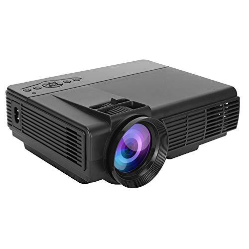 Sorandy Mini proyector, Proyector de Video 1080P, Proyector LED portátil, Reproductor Multimedia Multimedia Proyector de películas de Cine en casa, Compatible con HDMI, VGA, USB, AV(Q5)