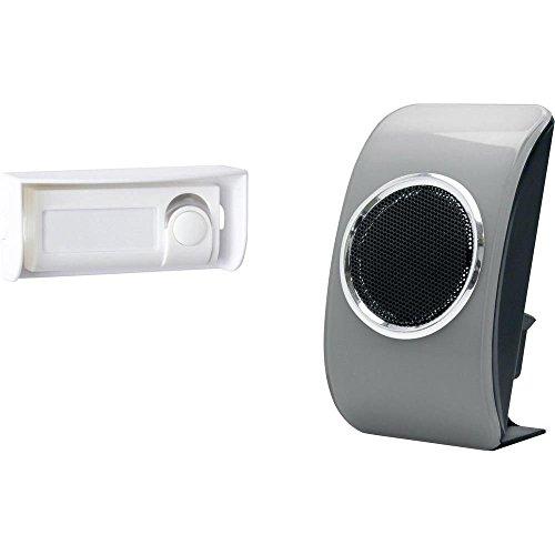 Extel Loobs 081719 - Campanello senza fili Loobs, colore argento