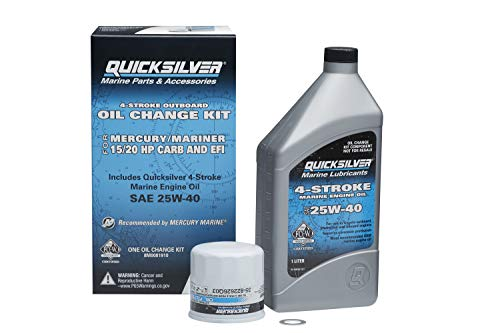 Quicksilver 8M0081910 Oil Change Kit - 15-20 HP...