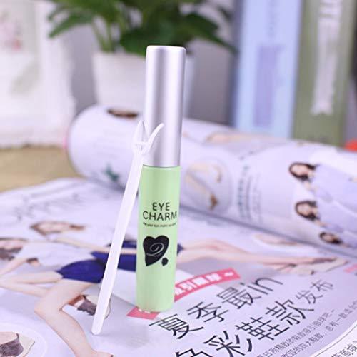 PRENKIN Colle de Maquillage étanche pour Faux Cils Double Paupière No Traces Excellente Colle Cils pour Cils Extension