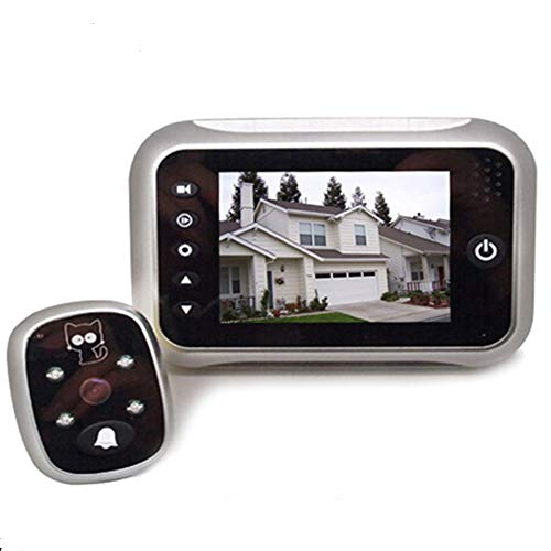 digitsea Digital doorbell Peephole Door Camera 3.5 inches TFT LCD Screen Night Vision Wide Angle / Video Record / Photo Shooting /w 8G Memory TF Storage Card
