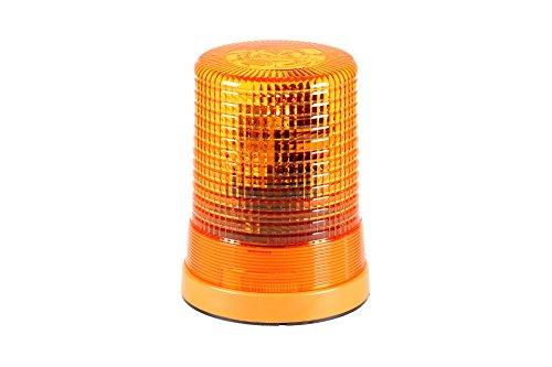 HELLA 2RL 004 958-111 Rundumkennleuchte - KL 700 - Halogen - H1 - 24V - rund - Lichtscheibenfarbe: gelb - Anbau - Einbauort: Aufbau