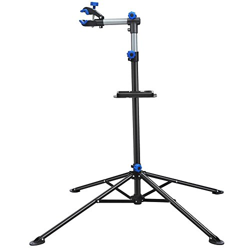 Yaheetech Pro Bicycle Rack Bike Repair Stand Adjustable Rack 52-75in w/Telescopic Arm