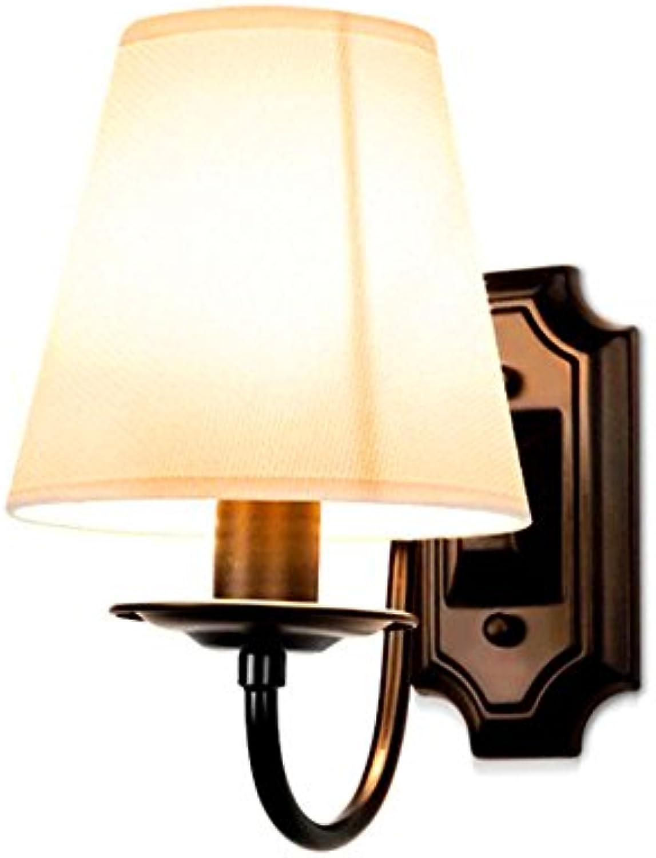 StiefelU LED Wandleuchte nach oben und unten Wandleuchten Dorf Wandleuchte Schlafzimmer Nachttischlampe Schatten Tuch über Landschaft, Wohnzimmer Wnde