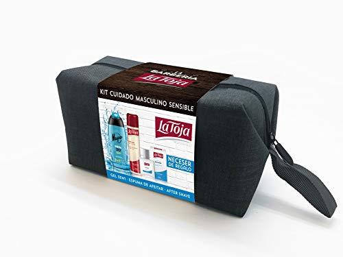 La Toja La Toja - Kit Cuidado Masculino Sensible - After Shave Bálsamo Clásico 100 Ml + Espuma Sensible 300 Ml + Gel Magno Men 3D Sport 400 Ml 800 g