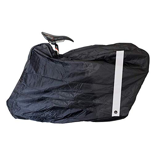 GORIX GX-Ca3 Fahrrad-Reisetasche / Transporttasche für Rennräder, Mountainbikes, Weiß