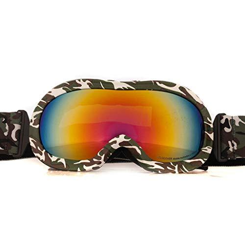 JBP Max Ski Goggles Sport Bril Kinderen Ski Bril Dubbele Anti-Mist En Winddicht UV-JBP8