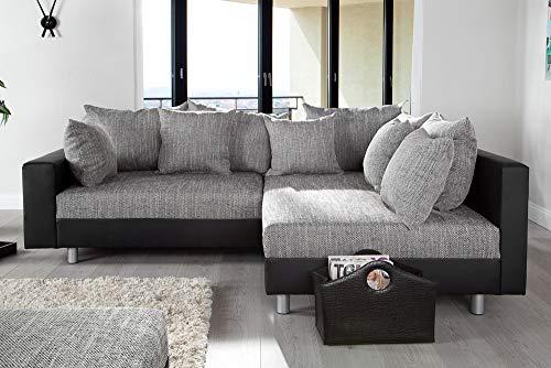 Ecksofa Couch –  günstig Design mit Hocker LOFT Bild 5*