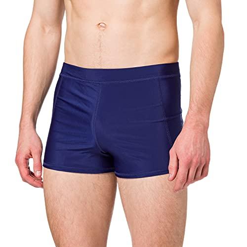 Superdry Mens Swim Sport MIDI Board Shorts, Navy, M