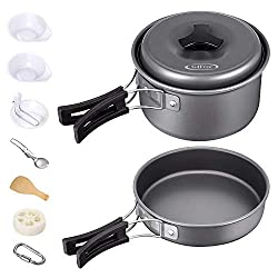 G4Free Camping Cookware Mess Kit 4/13