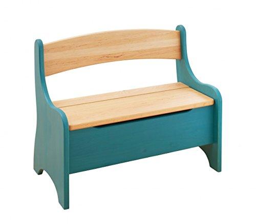 BioKinder 24785 Levin Kindersitzbank Sitzbank Truhenbank für Kinder aus Massivholz Erle 70 x 36 x 55 cm - 6
