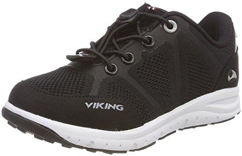 viking Ullevaal, Unisex-Kinder Cross-Trainer, Schwarz (Black/Grey 203), 35 EU (2.5 UK)
