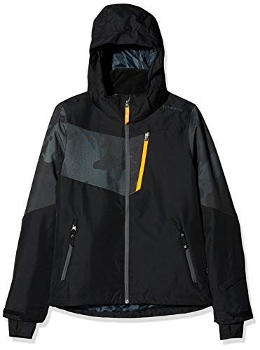 Brunotti Jungen Dakoto JR Boys Snowjacket Jacke, Black, 164.0