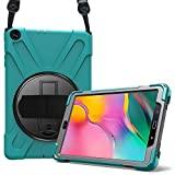 ProCase Étui Antichoc pour Galaxy Tab A 10.1 2019 T510 T515 10.1 Pouces, Coque Housse Robuste à Rotation de 360° avec...