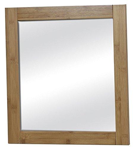 Miroir salle de bains en bois