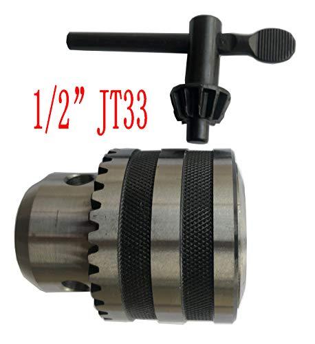 1/32-1/2 INCH JT33 Heavy Duty Drill Chuck With Key