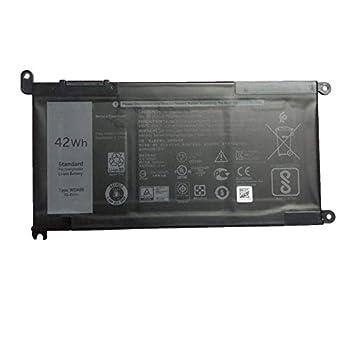 SUNNEAR WDX0R WDXOR Laptop Battery for dell Inspiron 15 5565 5567 5568 5578 7560 7570 7579 7569 13 5368 5378 7368 7378 17 5765 5767 5770 Series Notebook 3CRH3 T2JX4 FC92N CYMGM 11.4V 42Wh 3500mAh