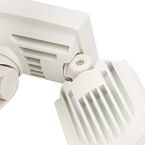 Snufeve6 Lámparas de Pared, Luces solares para Exteriores, garajes de 3 baños para Patios Traseros Puertas Delanteras Porches