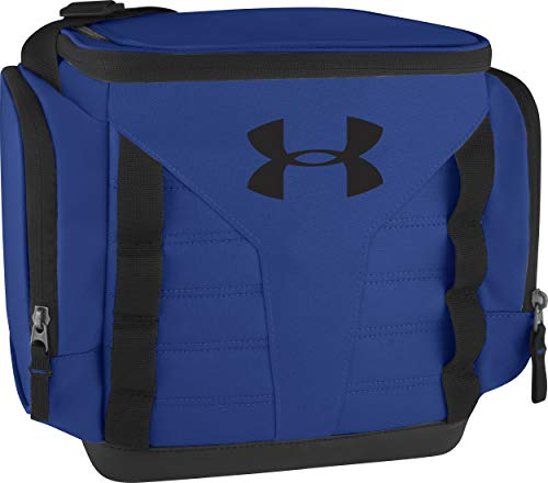 Under Armour 12 Can Soft Sided Cooler, Blue/Black