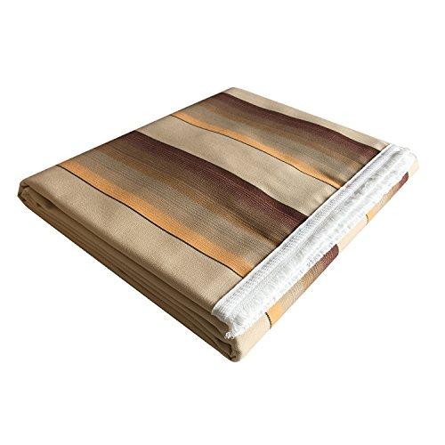 Panini Tessuti - Toldo con flecos y anillas patentadas de acrílico Dralón, 140 x 250 cm o 140 x 300 cm, ideal para terrazas, porches, balcones, jardines