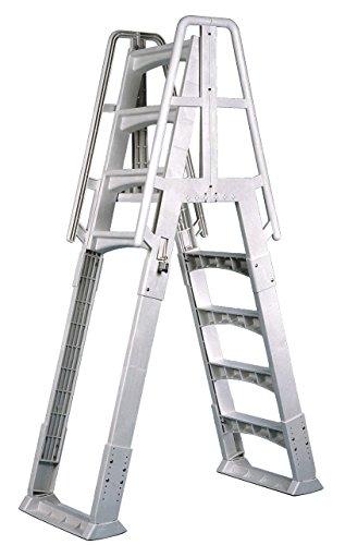 Vinyl Works Slide-Lock A-Frame Above Ground Pool Ladder
