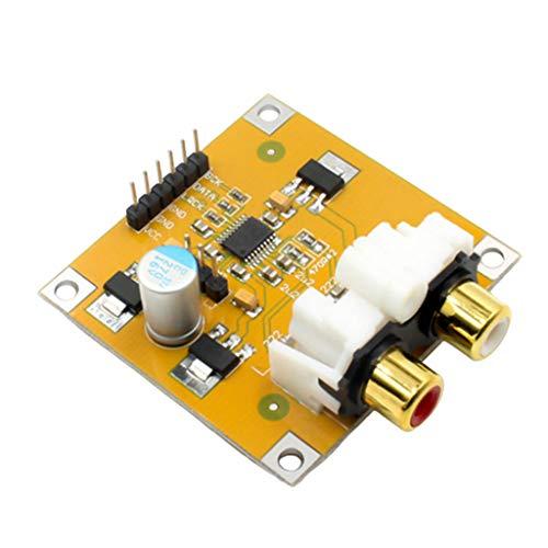 Gazechimp PCM5102 DC 5-10V Módulo Decodificador DAC, la Velocidad Máxima de Muestreo de 32 bits 384K de Soporte