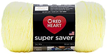 Red Heart Super Saver Yarn  3-Pack  Pale Yellow E300-322