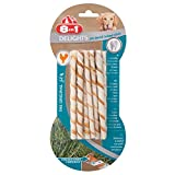 8in1 Delights Twisted Sticks - 10 Pezzi, 55 g...