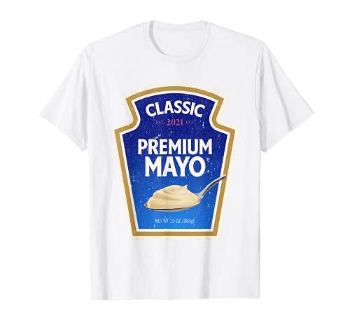 Mayonesa DIY Disfraz de Halloween Grupo a juego Mayo Camiseta