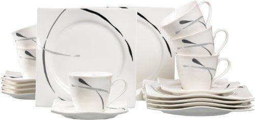 Ritzenhoff & Breker Kaffeeservice Dacapo, 18-teilig, Porzellangeschirr