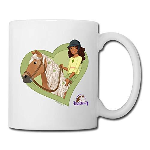 Schleich Horse Club Sarah & Myster Tasse, Weiß