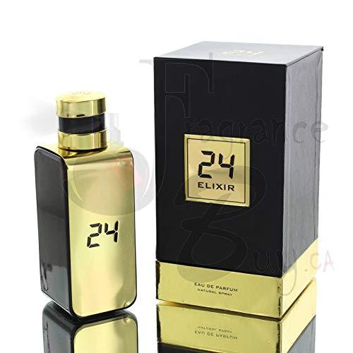 24 Gold Elixir by ScentStory Eau De Parfum Spray 3.4 oz / 100 ml (Men)