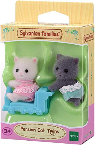 Sylvanian Families 5457 Perserkatzen Zwillinge - Figuren für Puppenhaus