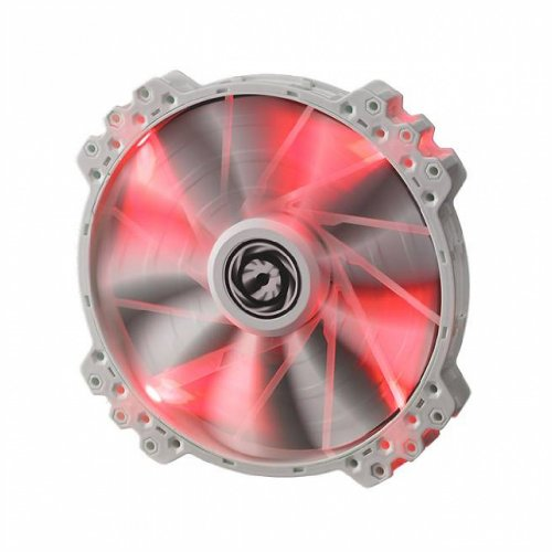 BitFenix Spectre Pro 200mm Red LED Case Fan BFF-WPRO-20025R-RP White
