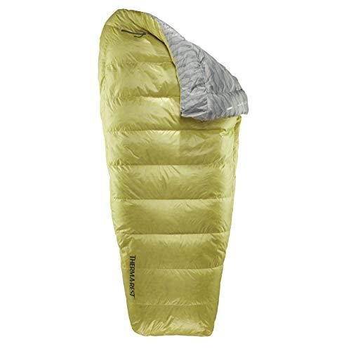 Therm-a-Rest Corus 32 Regular Gelb, Daunen Schlafsack, Größe 201 cm - Farbe Spring