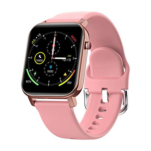 ZBY Smartwatch GTO Smart Watch Waterproof Fitness Pulsera Relojes Inteligentes para Hombres Y Mujeres para Android iOS,C