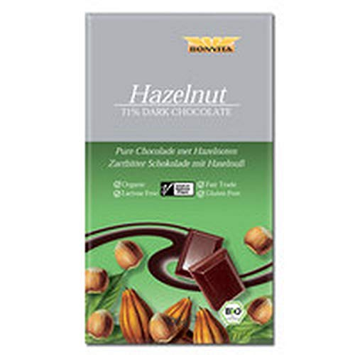 Bonvita Zartbitter Haselnuss Schokolade - 100 g