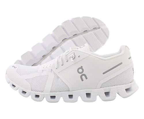 ON Women's Cloud Sneakers, All White, 9 Medium US