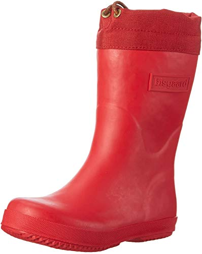 Bisgaard Unisex-Kinder Winter Thermo Gummistiefel, Rot (10 Red), 37 EU