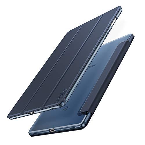 INFILAND Custodia per Samsung Galaxy Tab S5e 2019 10.5, Trasparente Puro Tri-Fold Custodia Cover per Samsung Galaxy Tab S5e 10.5''(T720/T725) 2019, Automatica Svegliati/Sonno,Marina Militare