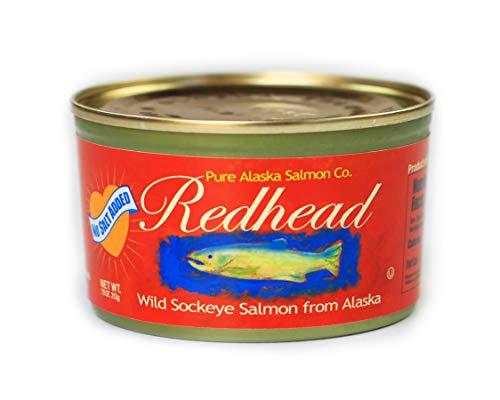 No Salt Added Redhead Wild Alaska Sockeye Salmon