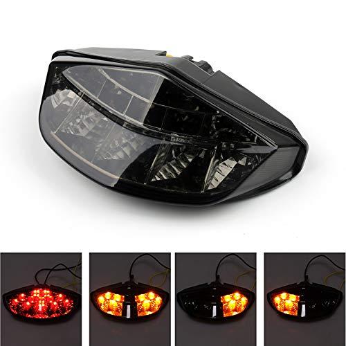 Artudatech - Fanale posteriore a LED per moto con indicatori di direzione per DUCA-TI Monster 696 795 796 1100
